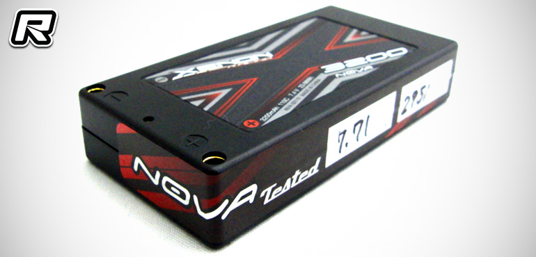 Xenon Racing NovaTested 1/12th scale LiPo packs