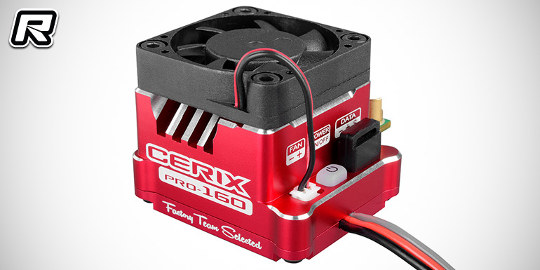 Team Corally Cerix brushless speed controllers