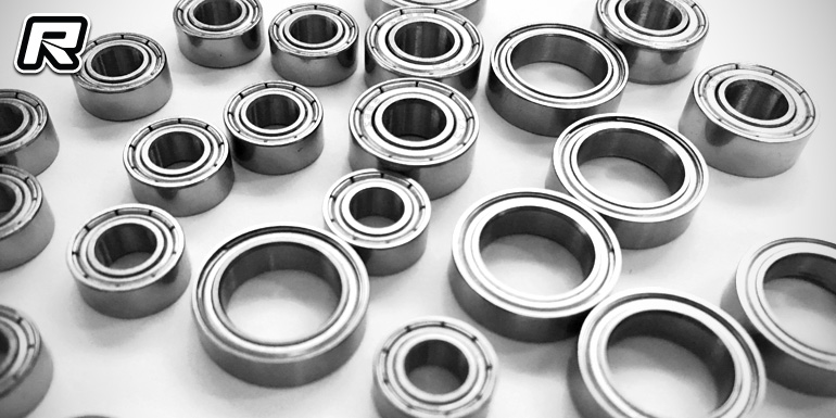 Gravity RC B5 & B6 ceramic-coated steel bearing kit