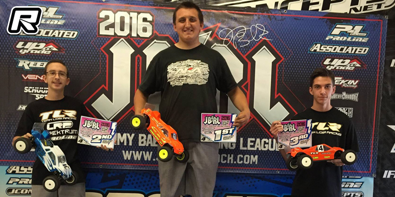 Hartson & Jenson double at JBRL Electric Series Rd4