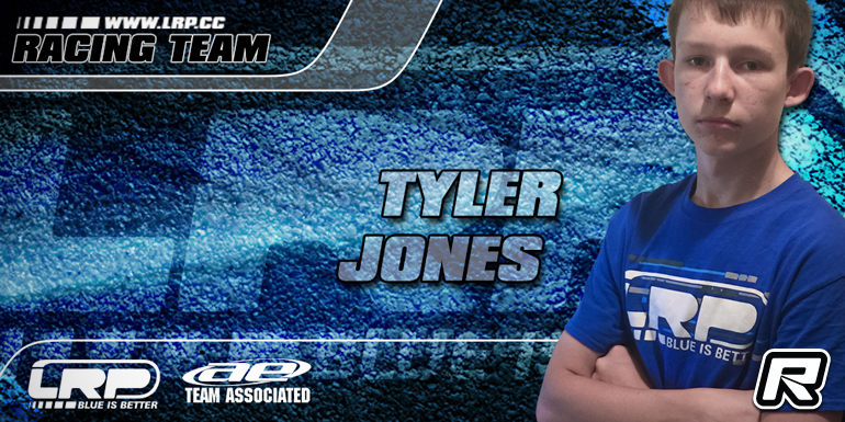 Tyler Jones signs with LRP