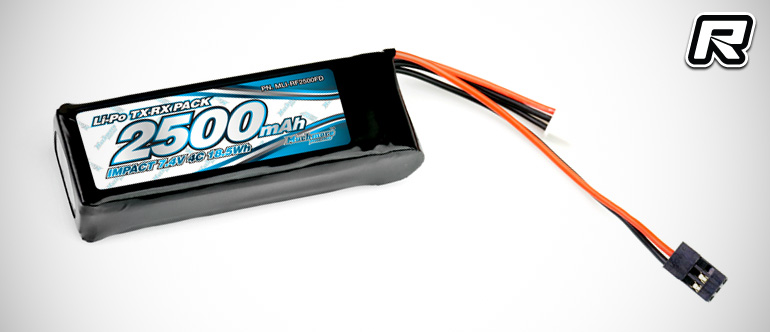 Muchmore Impact 7.4V flat & hump style RX LiPo packs