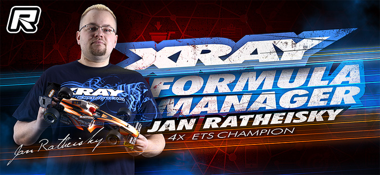 Xray Formula team manager role for Jan Ratheisky