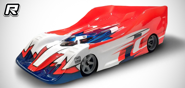 Sprint RC DTRS-Evo2 1/8th on-road bodyshell