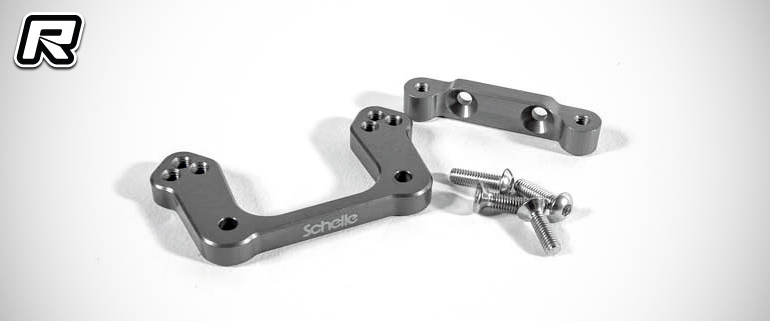 Schelle TLR 22 3.0 rear camber block & Ti motor screws