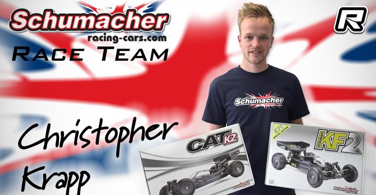 Christopher Krapp joins Schumacher off-road team