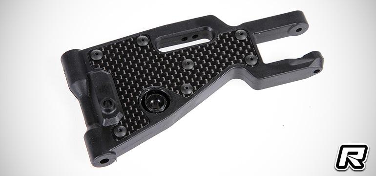Serpent Cobra SRX8 carbon fibre A-arm inserts