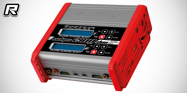 Team Corally Eclips 2100 dual output AC/DC charger