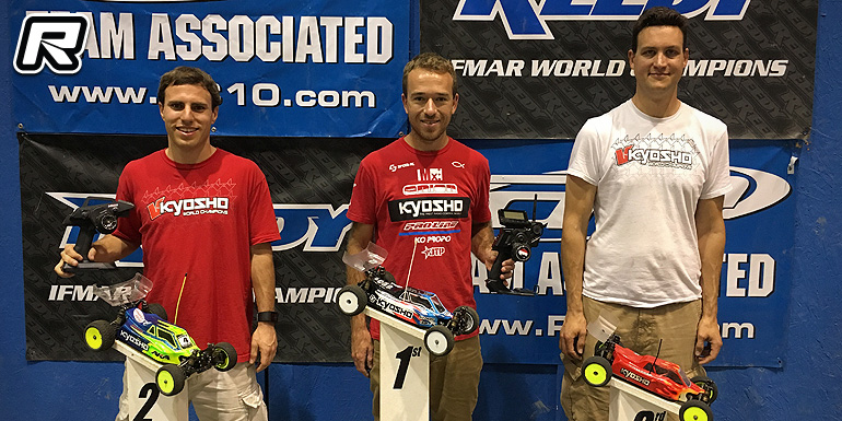 Jared Tebo doubles at Summer Series