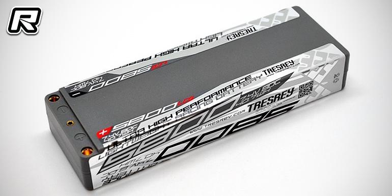 Tresrey introduce two new LCG LiPo batteries