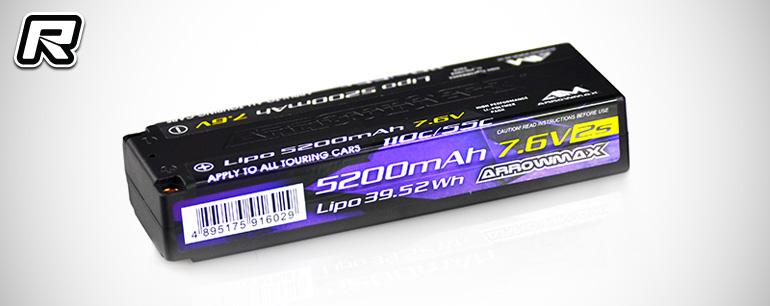 Arrowmax 5200mAh 2S LiHV battery pack