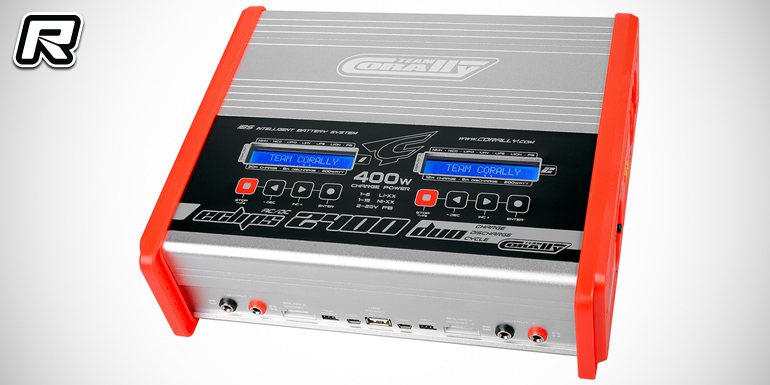 Team Corally Eclips 2400 AC/DC multi-chemistry charger