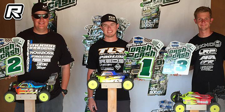 Tanner Denney doubles at Dash for Cash race