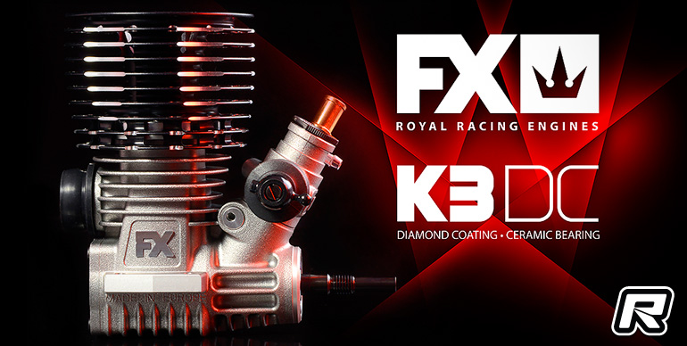 FX K3 DC 3-port nitro off-road engine