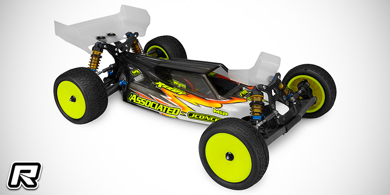 JConcepts B6 S2 bodyshell with Aero wing set