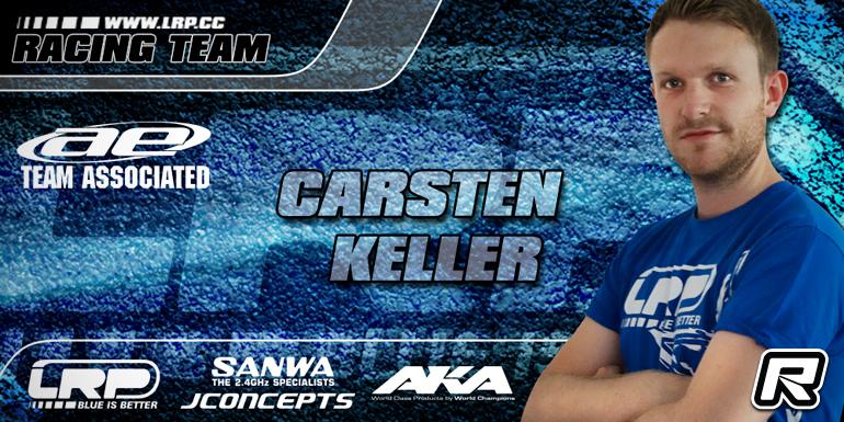 Carsten Keller teams up with Team Associated
