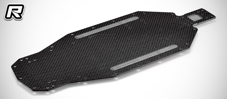 RDRP XB2 2.5mm carbon fibre main chassis plate