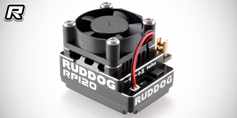 Ruddog RP120 sensored brushless speed controller