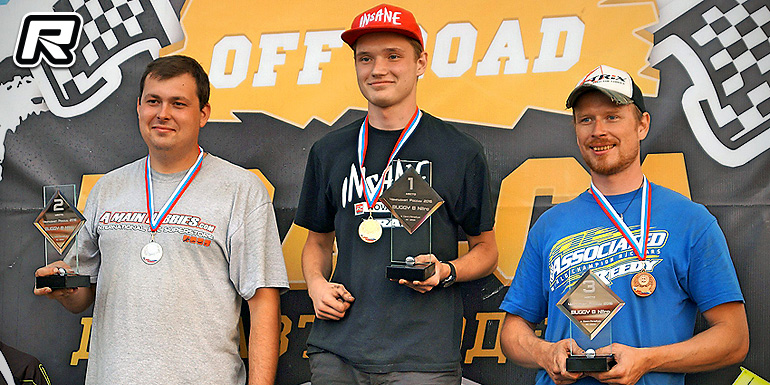 Maxim Laverychev crowned Russian 1/8th Buggy Champ