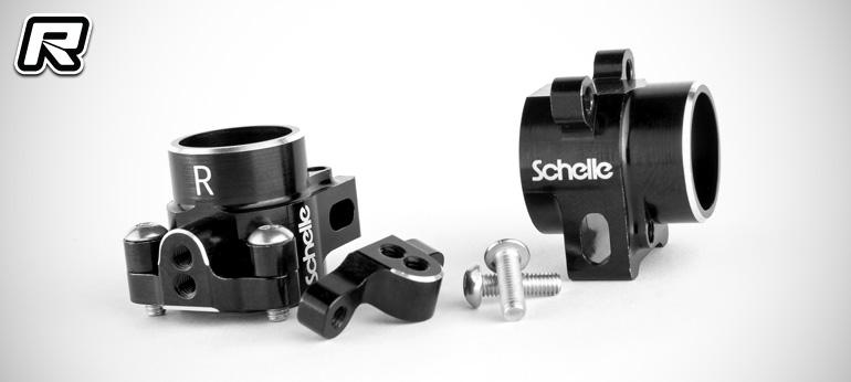 Schelle B6-series 2-piece aluminium rear hubs