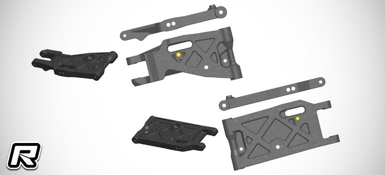Serpent SRX8 suspension arm replacement program