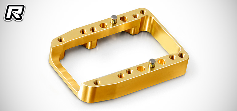 Xray NT1'16 1-piece brass engine mount