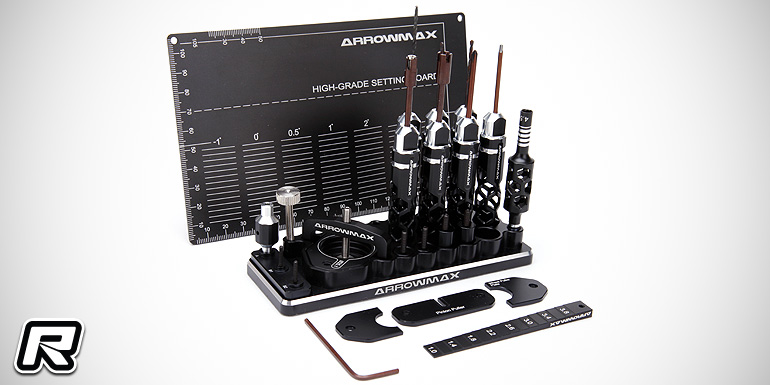 Arrowmax 1/32 Mini 4WD tool set