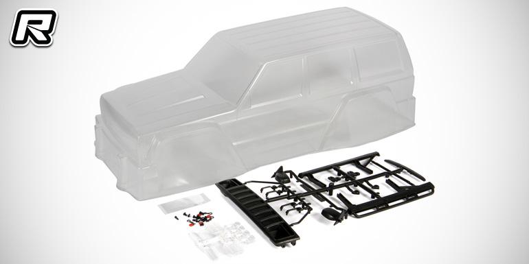 Axial Jeep Cherokee body & aluminium upgrades