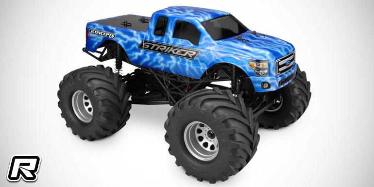 JConcepts Ford F-250 Super-Duty SuperCab MT body