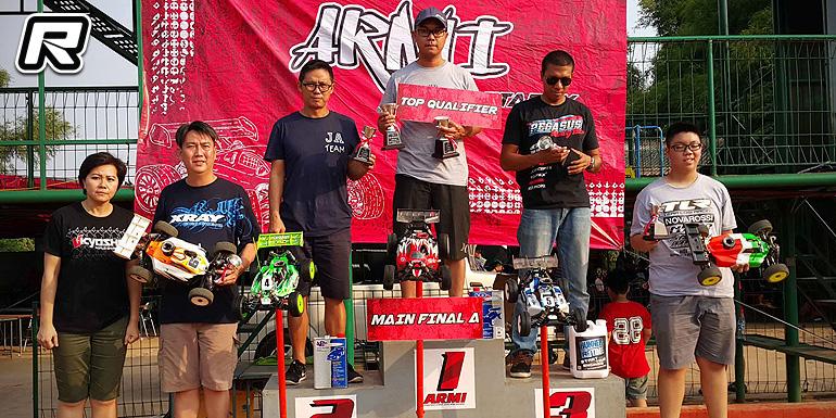 Adrian Wicaksono TQs & wins at Jakarta Regional Rd4