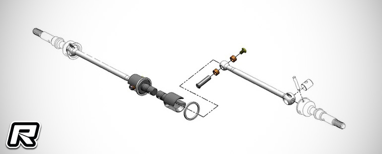 MIP B6-series Roller Pucks gear diff kit