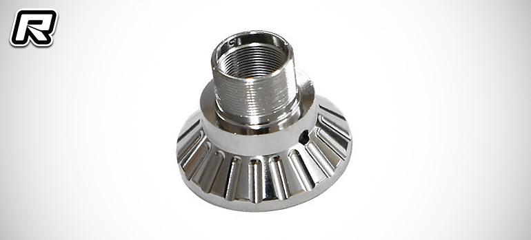 Mugen MTX6 hard wheel axles & alloy clutch bell