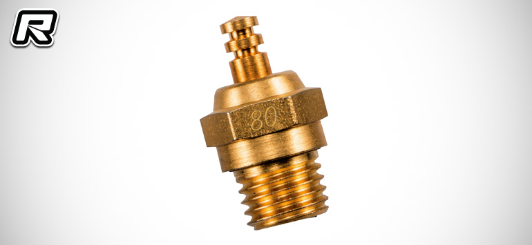O.S. Engines 24K Gold-plated #80 glow plug