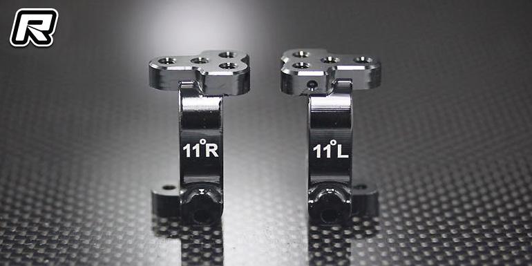 PR Racing SB401 11 degree aluminium C-hubs