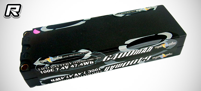 Team Powers 6400mAh 7.4V Stock Racing LiPo pack
