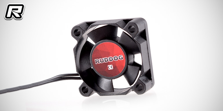 Ruddog 30mm & 40mm fan units with all-black wire