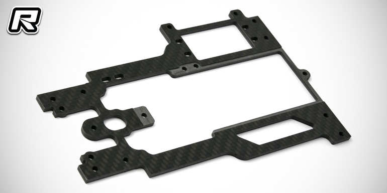 "Shepherd Velox V10 ""WC"" 3mm carbon radio plate"
