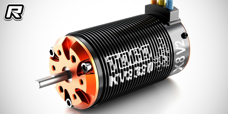 SkyRC Toro X8 V2 1/8th scale brushless motor