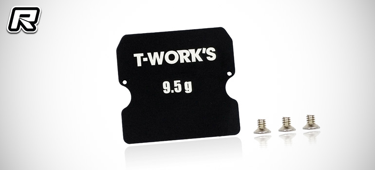 T-Works B6-series chassis balance weights