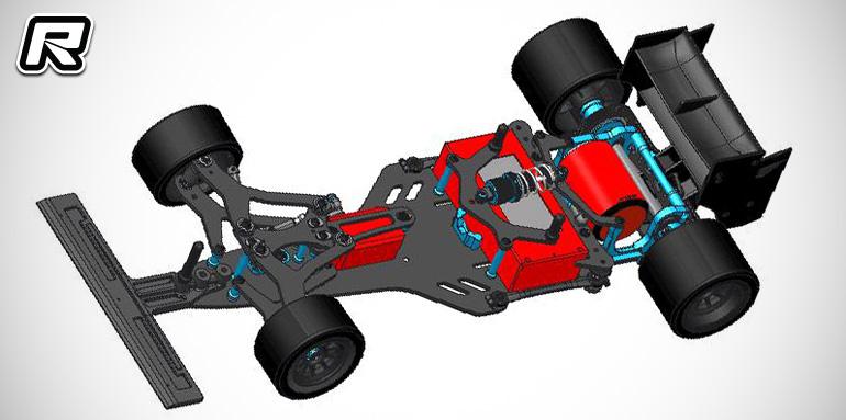 Teamsaxo F1-180V2 1/10th formula car kit