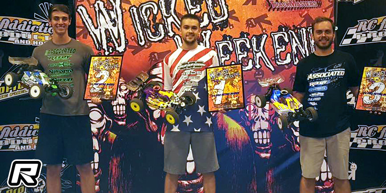 Cole Ogden wins Pro Nitro Buggy at Wicked Weekend