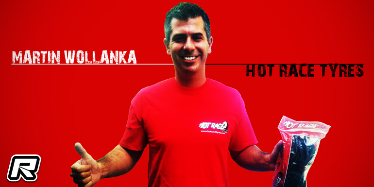 Martin Wollanka signs with Hot Race Tyres