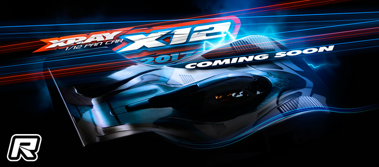 Xray tease X12'17 1/12th scale pan car