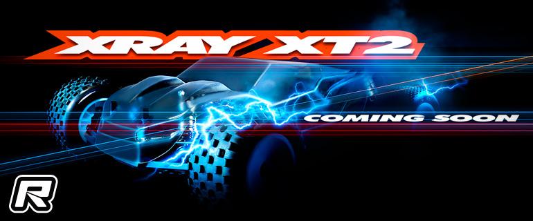 Xray tease XT2 1/10th 2WD stadium truck