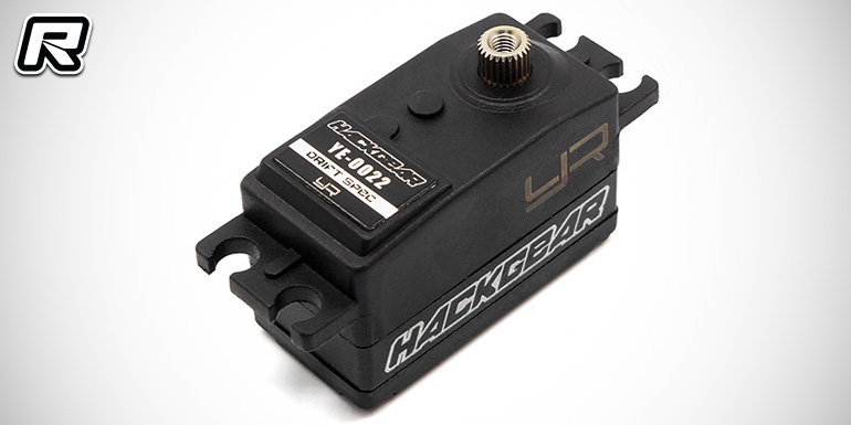 Yeah Racing Hackgear Drift Spec low-profile servo