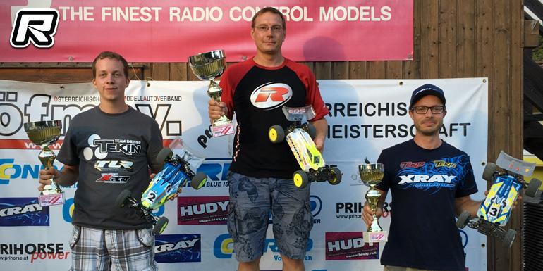 Hönigl crowned double Austrian 1/10th Buggy champ