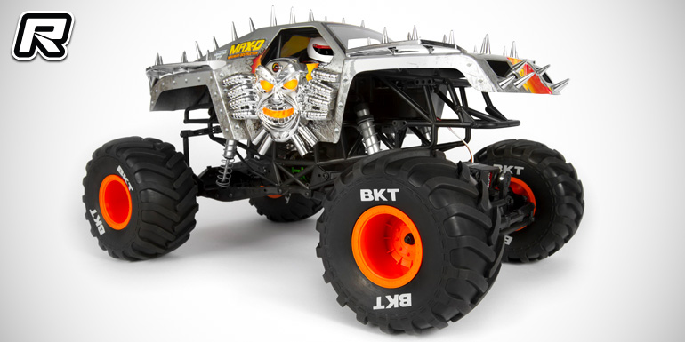 Axial SMT10 Max-D Monster Jam 1/10th scale RTR truck.