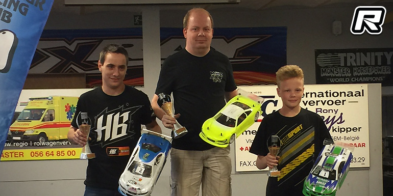 Claeys & Bultynck win Belgian Electric On-road titles