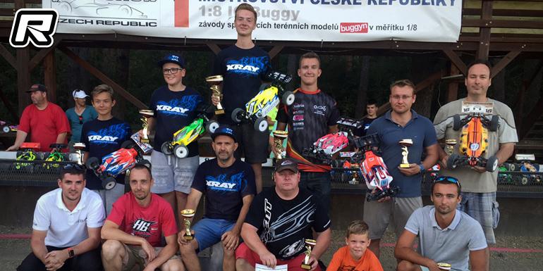 Mara & Novotny win at Czech Nitro Buggy nats Rd3