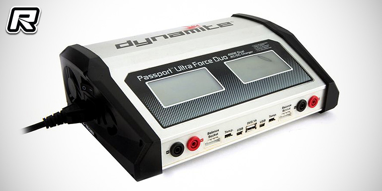 Dynamite Passport Duo 400W dual output AC/DC charger